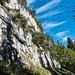 Walking along the southern faces of the Wageten ridge