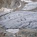 Aufstieg am rechten Gletscherrand