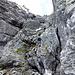 Auf der roten Route vom vorletzten Bild geht das recht flott über diese einfachen Felsen.