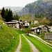 Wir erreichen die Zivilisation - Daigra im Val Camadra.