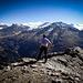 Der Bergbursche blickt in die Ferne zum Steigletscher mit Sustenghorn. Da mag ich auch noch hin