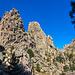 Am Col de L'Oiseau mit herrlichem Blick zu den Türmen