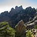 Blick zurück zum Col de L'Oiseau