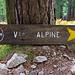 Wieder am Beginn der Alpinen GR 20 Variante