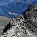 Auf in den Abstieg! Das Ziel, die Bergstation der Signalbahn, ist noch weit.