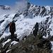 Kurz vor dem Gipfel des Stucklistock (dahinter benebelt das Sustenhorn)