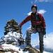 Auf dem Gipfel des Stucklistock 3313m