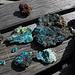 Ci vuole solo camminare e guardare un pò e facilmente si trovano dei bei pezzi di minerali..../ man muss nur ein Stück gehen und genau hinschauen, schon hat man ein paar schöne Minerallien gefunden