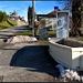 Die <b>Superinfrastrukur</b> von Roche-d'Or (Bild C): <b>Modernste Telekommunikation</b> sowie die gut florierende <b>Waschanstalt</b>
