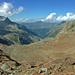 Links das Mährenhorn, ganz rechts die Trifthütte