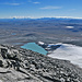 Blick vom Gipfel gegen Südosten
