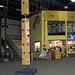 Der Eingangsbereich in der grossen Milandia Kletterhalle.
