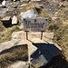 Eine Wasserstelle am Seewligrat ohne auffindbares Wasser