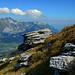 Die Wolken formieren sich über dem Alpstein.