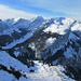 Blick vom Kamor in den ganzen nordöstlichen Alpstein.