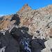 Auffälliger Längsgraben auf der Sella di Ör Languosa
