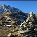 endlcih hat man den Eindruck beim Bergsteigen zu sein