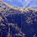 il percorso...cavo lungo 1850 m e si è sospesi fino a 350 m di altezza