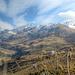 Zum Tagesabschluss wurde es nochmal sonniger - Blick zum Roccabella