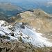 Blick in Richtung Davos beim Abstieg auf dem Pischagrat