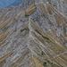 Blick von der Rote Spitze zur Steinkarspitze.
