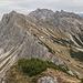 Blick von der Steinkarspitze in die südseitige Flanke der Lachenspitze.