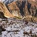 La neige apparait vers 2100m (Fieschertal)