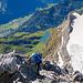 Beim Gipfelaufstieg (3)