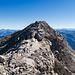 Der sanfte Gipfelgrat...