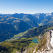 Gipfelblick Süd