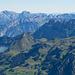 Mürtschenstock, Churfirsten und Alpstein