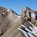 Zoom zur Klettersteigpassage