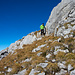 Abstieg bei 2240m