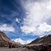 Die Zeltstadt in der Nähe des Everest Base Camps. Bergsteiger sieht man hier keine. Die Zeltstadt ist ausschließlich füer Touristen angelegt, die für eine Nacht bleiben.
