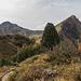 Wieder zurück an der Landsberger Hütte: Steinkarspitze & Rote Spitze.