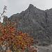 Herbststimmung unterhalb der Lachenspitze-Nordwand.