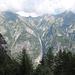 la valle di Foioi vista da Sologna
