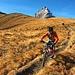 Auf geht es zur alpinen Bike-Abfahrt
