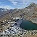 Lago Pero, Strahlbann und im Hintergrund Pizzo Stella