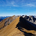Vom Hinteren Riefenkopf geht es weiter nach Nordwesten zu den nächsten beiden Gipfeln