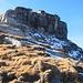 Il castello sommitale della cima più alta del Pizzo di Claro.