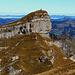 """Sicht vom """"Hagelstock"""" zum nächsten Gipfelziel, dem Siwfass."""