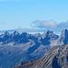 Die Größen der Hornbachkette zeigen sich eindrucksvoll
