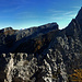 """Panorama vom """"Chli Chaiser""""."""