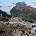 Der flache Rücken des Chaiserstockes und das Nebelmeer :-)