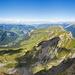 Gipfelpanorama vom Druesberg in Richtung Nord