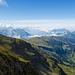 Gipfelblick Druesberg nach Westen