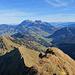 Gipfelaussicht in den Alpstein.