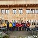 ... vor dem Alprestaurant Ober-Badegg ...