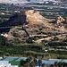 Ansicht vom Cerro Hacho (75m). Den kleinen Hügel habe ich einen Tag zuvor vom Castillo de Saobreña aus fotografiert.